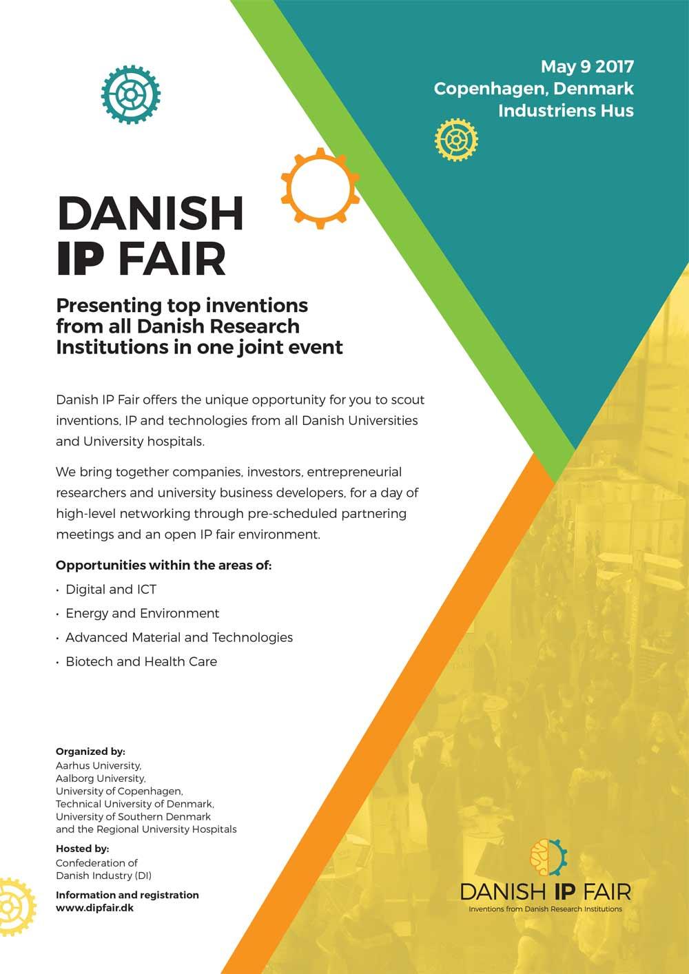 Danish IP Fair 2017 invitation