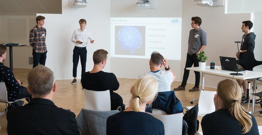 Health Innovators teamet Acumulus fremlægger deres ide