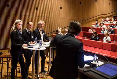 Konference sundhedsinnovation introsession, foto: Jesper Rais
