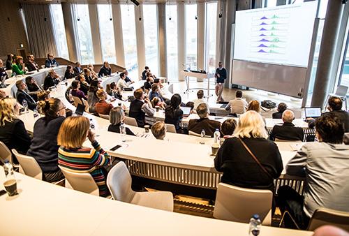 Konference technological megatrends. Foto: Jesper Rais