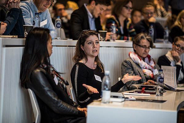 Konference spørgsmål fra publikum. Foto: Jesper Rais
