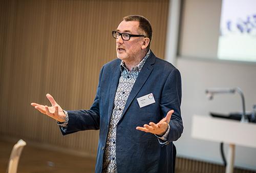 Konference workshop med Paul Coyle. Foto: Jesper Rais