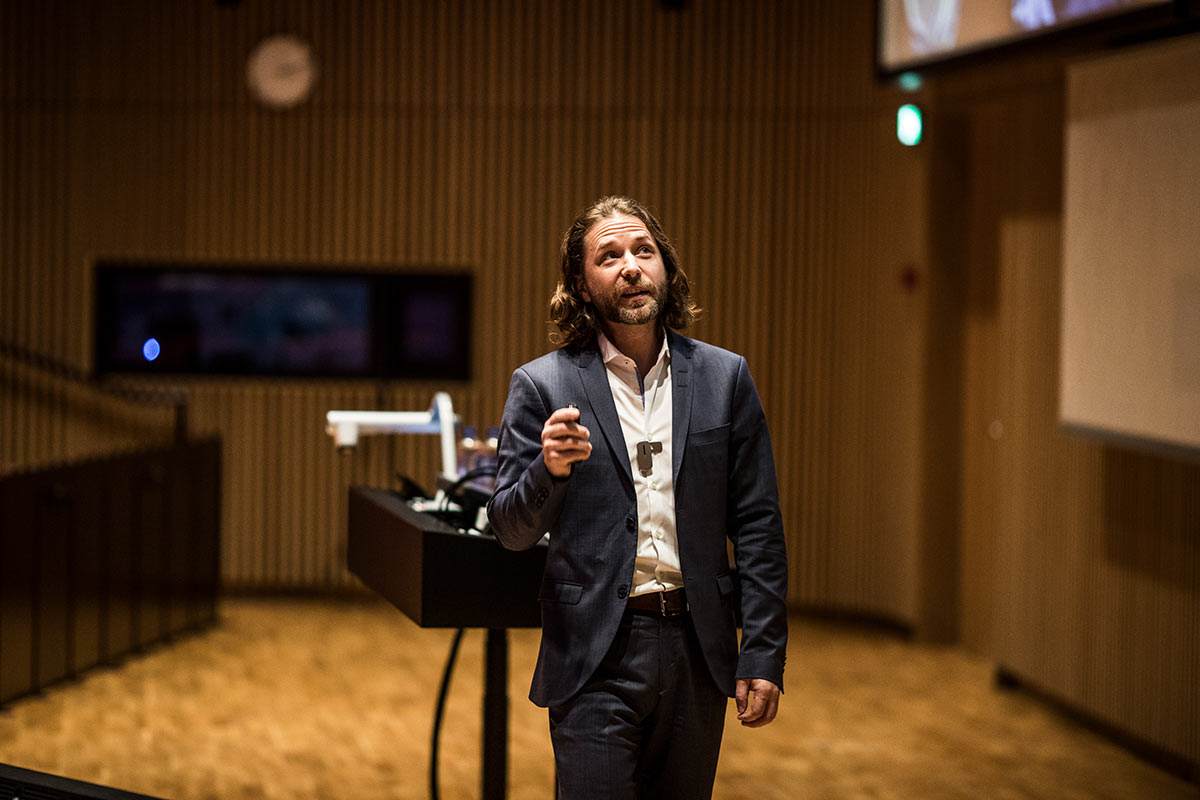 Keynote med Jack Kreindler. Foto: Jesper Rais