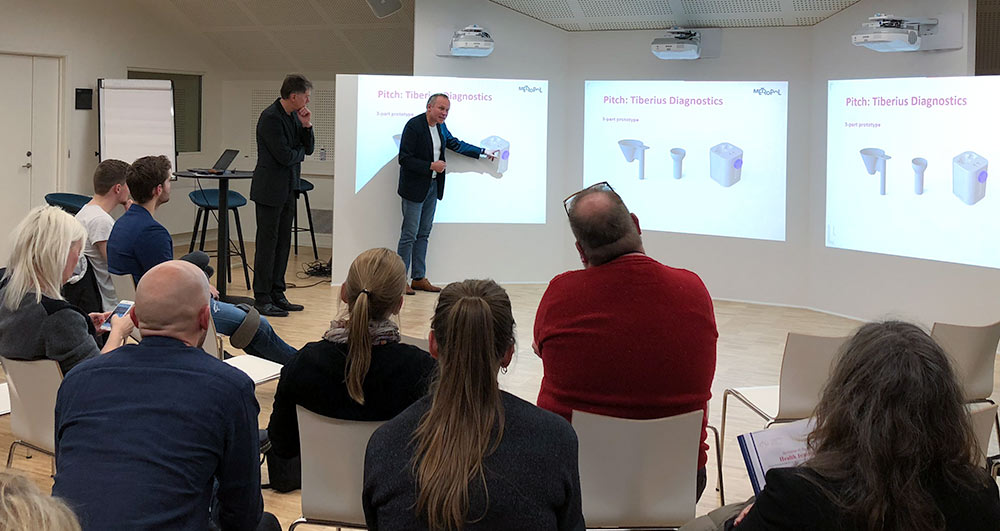 Tiberius Diagnostics til Health Innovators finalen
