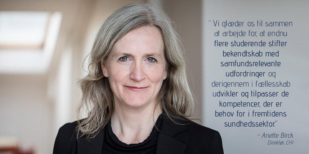 Anette Birck om nye målsætninger