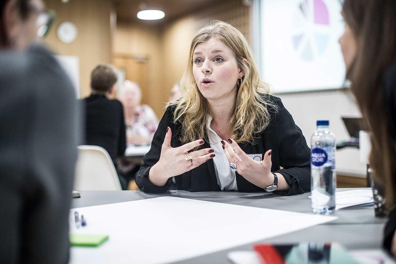 konference om sundhedsinnovation. Foto: Jesper Rais