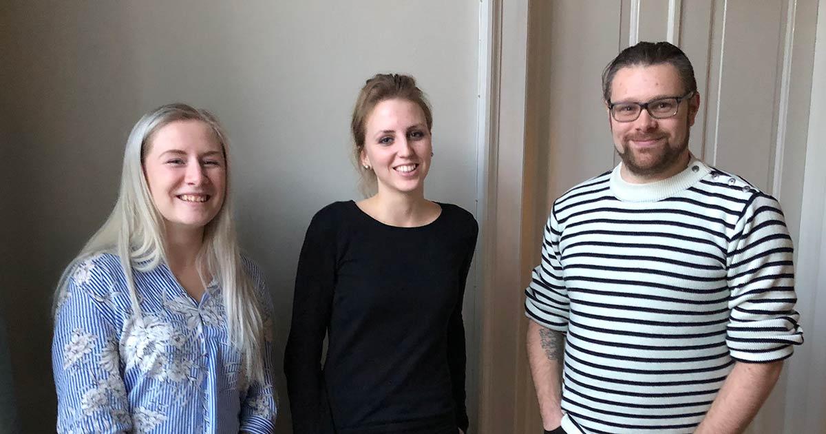 Tandplejerstuderende i innovationsforløb