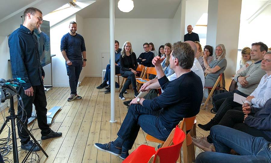 CHI Morgen: CAMES i dialog med publikum