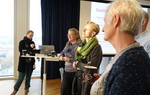NSU deltagerne diskuterer