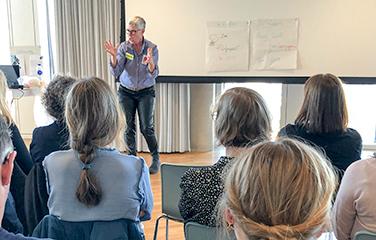 NSU: Dorte Njor-Larsen laver oplæg