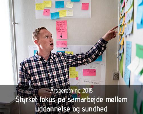Årsberetning 2018. Foto: Jesper Rais
