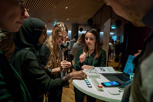 Innovationsbazar til konferencen