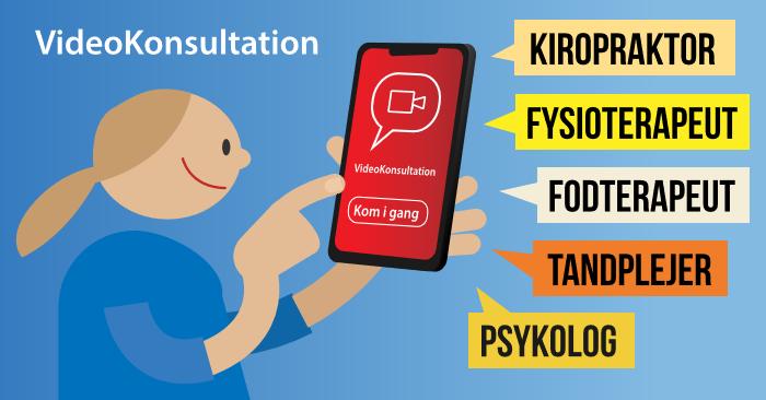 Konsultation på tablet