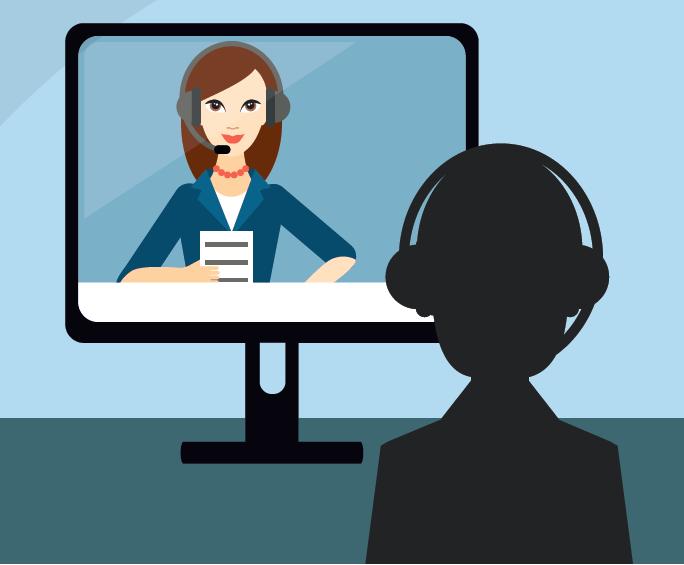 Redskaber til virtuelle møder og skærmbesøg
