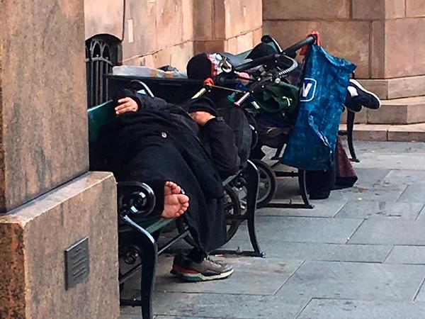 Sundhed blandt uregistrerede og hjemløse migranter